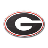 Georgia Bulldogs Color Auto Emblem - Die Cut
