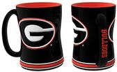 Georgia Bulldogs Coffee Mug - 15oz Sculpted