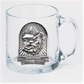 Georgia Bulldogs Clear Coffee Mug Set CM10116