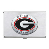 Georgia Bulldogs Business Card Case Set