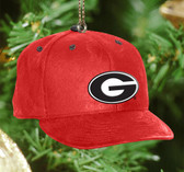 Georgia Bulldogs Baseball Cap Ornament