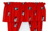 "Georgia Bulldogs 84"" x 15"" Valance"