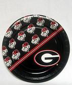 "Georgia Bulldogs 7"" Dessert Paper Plates"