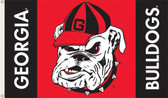 Georgia Bulldogs 3 Ft. x 5 Ft. Flag w/Grommets 95107