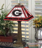 "Georgia Bulldogs 23"" Mission Lamp"