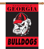 "Georgia Bulldogs 2-Sided 28"" x 40"" Banner w/ Pole Sleeve 96107"