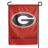 "Georgia Bulldogs 11""x15"" Garden Flag"