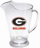 Georgia 64 oz. Crystal Clear Plastic Pitcher