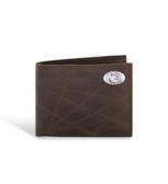Florida State Seminoles Wrinkle Pebble Brown Passcase Wallet