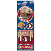 Florida State Seminoles Prismatic Stickers