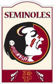 Florida State Seminoles Nostalgic Metal Sign