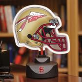 Florida State Seminoles Neon Helmet Desk Lamp