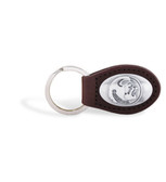 Florida State Seminoles Brown Leather Key Chain