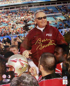 Florida State Seminoles Bobby Bowden Hand Signed 16 x 20 Photograph