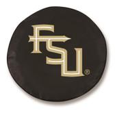 Florida State Seminoles Black Tire Cover, Large TCBKFlorStScriptLG