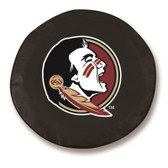 Florida State Seminoles Black Tire Cover, Large
