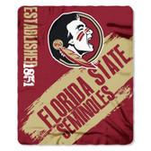 Florida State Seminoles 50x60 Fleece Blanket - College Painted Design