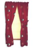 "Florida State Seminoles 42"" x 84"" Curtain Panels"