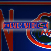 Florida Gators The Gator Nation Street Sign