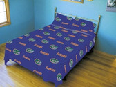 Florida Gators Solid Sheet Set (King)