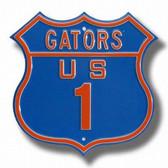 Florida Gators Route 1 Sign