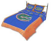 Florida Gators Reversible Comforter Set (Queen)
