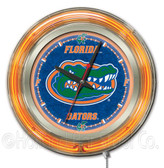 Florida Gators Neon Clock