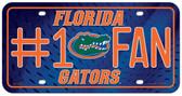 Florida Gators License Plate - #1 Fan