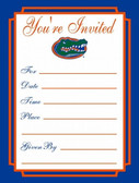 Florida Gators Formal Invitations