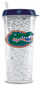 Florida Gators Crystal Freezer Travel Tumbler