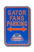 Florida Gators Champions Parking Sign 71063-AUTHSS