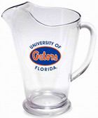 Florida Gators 64 oz. Crystal Clear Plastic Pitcher
