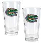 Florida Gators 2pc Pint Ale Glass Set
