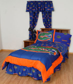 Florida Bed in a Bag King - With Team Colored Sheets