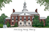 Eastern Kentucky University Lithograph