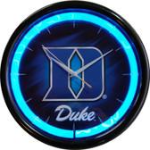 Duke Blue Devils Plasma Clock