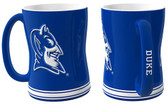 Duke Blue Devils Coffee Mug - 15oz Sculpted