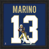 Dan Marino Pittsburgh Panthers 20x20 Framed Uniframe Jersey Photo