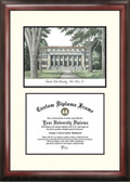 Colorado State University Scholar Framed Lithograph with Diploma