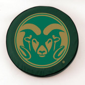 Colorado State Rams Green Tire Cover, Large