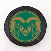 Colorado State Rams Black Tire Cover, Large