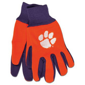 Clemson Tigers Two Tone Gloves