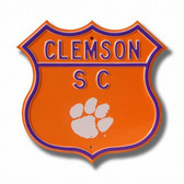 Clemson Tigers Route Sign