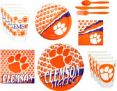 Clemson Tigers Party Supplies Pack #2