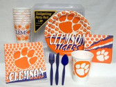 Clemson Tigers Party Supplies Pack #1