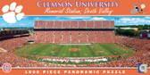 Clemson Tigers Panoramic Stadium Puzzle