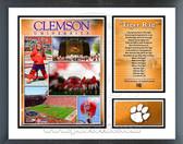 Clemson Tigers Milestones & Memories Framed Photo