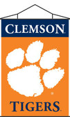 Clemson Tigers Indoor Banner Scroll