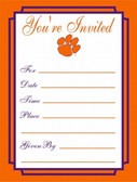 Clemson Tigers Formal Invitations