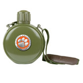 Clemson Tigers Colored Logo Canteen with Compass